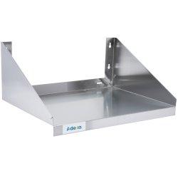 Vägghylla för mikrovågsugn Rostfritt stål 600x450mm | Adexa WMS450X600