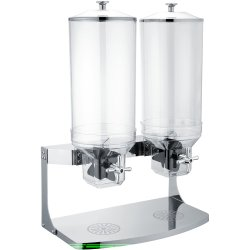 Müsli- & Flingdispenser 2x10 liter Double | Adexa SCD10B