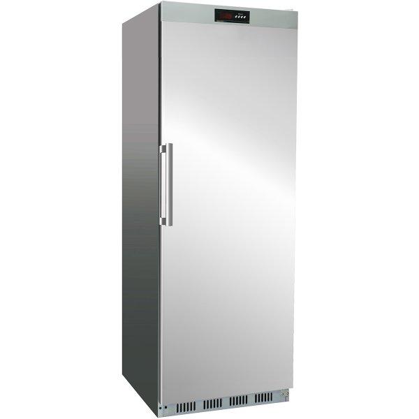 Professionellt Kylskåp 400 liter Rostfritt stål Enkel dörr | Adexa SR400