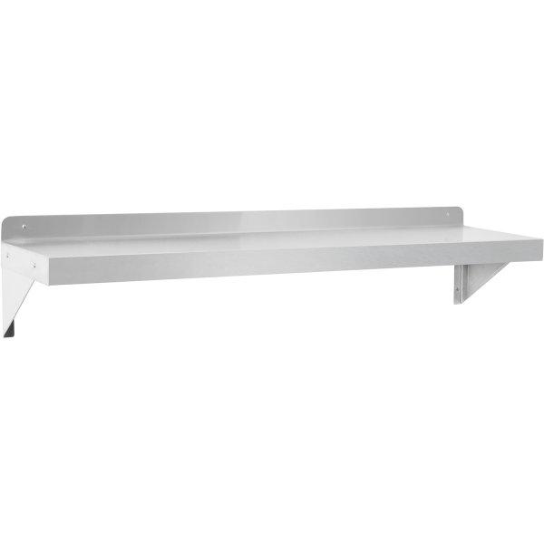 Vägghylla Rostfritt stål 1500x300x250mm | Adexa WHWS126018