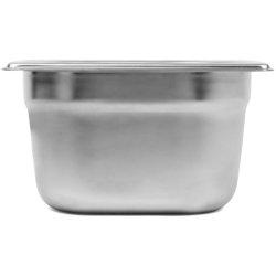 Kantin Rostfritt stål GN1/6 Djup 100mm | Adexa E8016100-8164